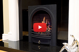 Arch Full Depth Radiant Gas Fire
