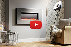 San Francisco LED Electric Fire